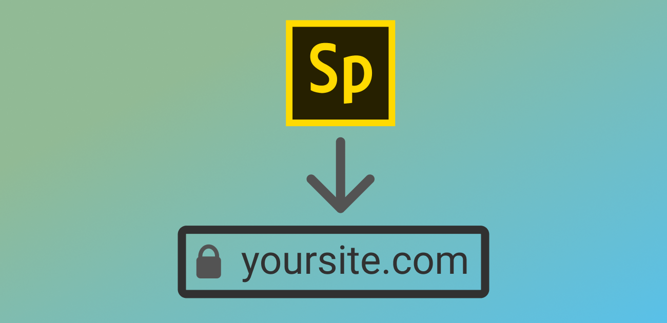 Put your Adobe Spark page at your own custom domain for free